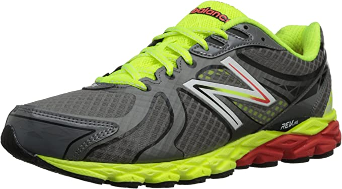 New Balance Men's 870v3 Grey With Lime