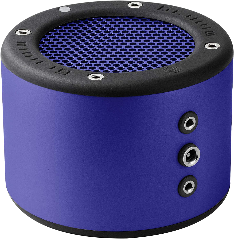 MINIRIG 3 Portable Rechargeable Bluetooth Speaker - 100 Hour Battery - Loud Hi-Fi Sound - Blue