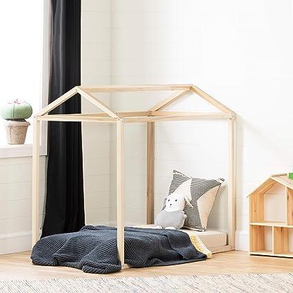 Amazon Com South Shore 12225 Sweedi Toddler Bed Natural Poplar