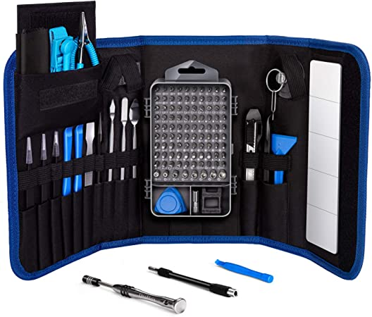LB1 High Performance Professional 54 Piece Tool Screwdriver Bit Set Repair Kit Hand Tool Kit for Dell 14 Latitude Notebook 6 GB Memory and 128 GB Solid State Drive E6430