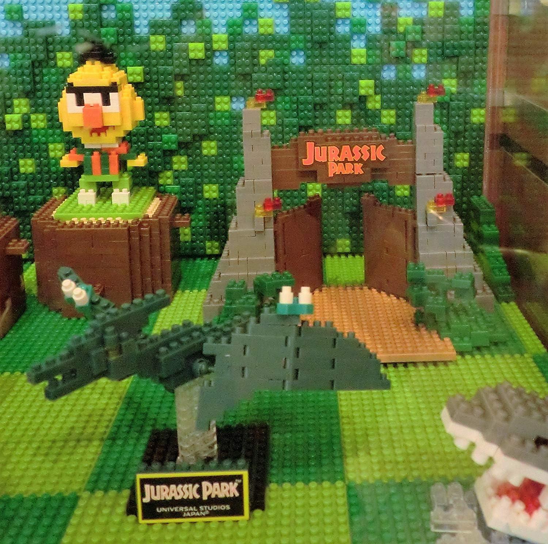 Jurassic Park GATE Nano Block USJ Official Limited Edition Goods