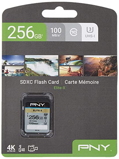 PNY Elite-X Memoria Flash 256 GB SDXC Clase 10 UHS-I ...
