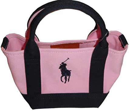 d59d0d073adf Image Unavailable. Image not available for. Color  Girl s Ralph Lauren  Small Canvas Tote ...