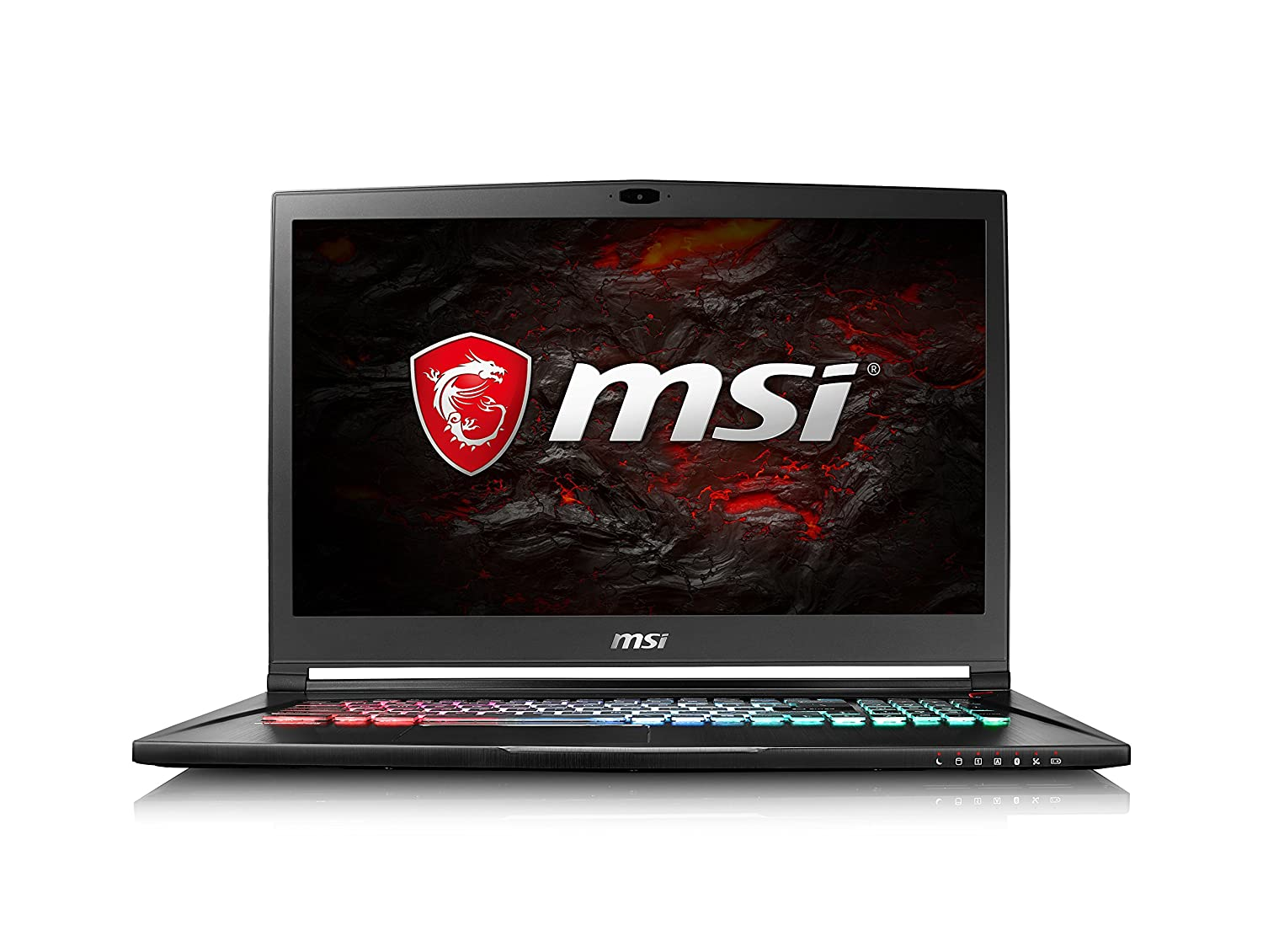 MSI GS73 7RE-018IT Notebook, Display da 17.3, i7-7700HQ, 16 GB, Nvidia GTX 1050 Ti