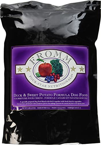 Fromm Four-Star Duck Sweet Potato Dry Dog Food