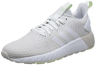 01c14b3c90be32 adidas Damen Questar BYD Sneaker Grau (Grey One Footwear White Aero Green)