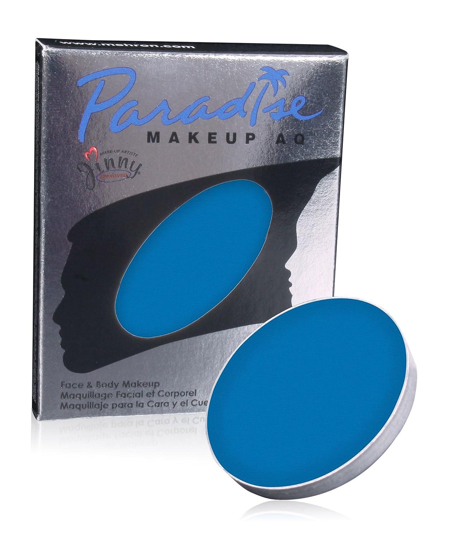 Mehron Paradise Face Paint Refills - Lagoon Blue (0.25 oz) Morris Costumes 58152