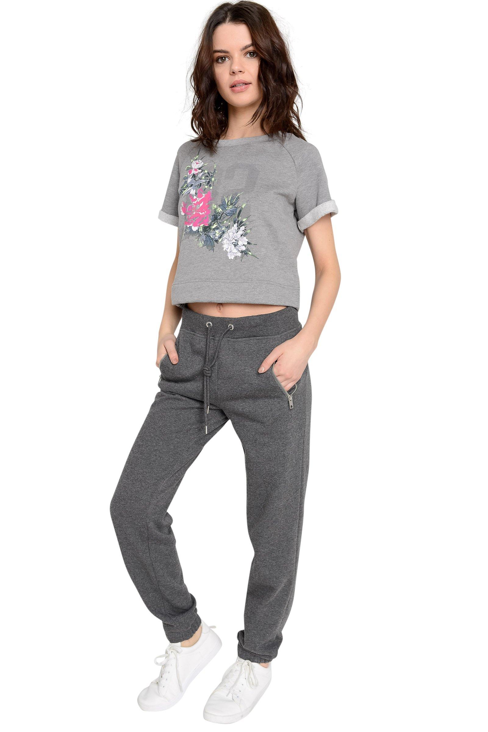 Ardene Women's - Sweatpants & Joggers - Fine Knit Sweatpants Small -(8A-AP01952)