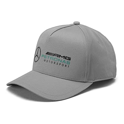 Mercedes Benz AMG Petronas Formula 1 Grey Racer Hat: Clothing