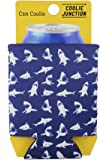 Coolie Junction Shark Pattern Neoprene Collapsible Can Coolie
