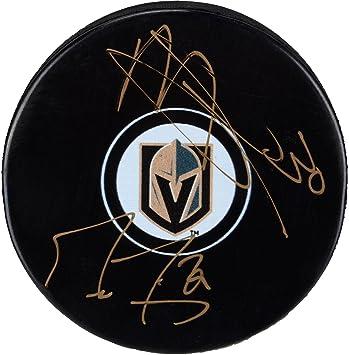 Marc Andre Fleury Malcolm Subban Vegas Golden Knights Autographed