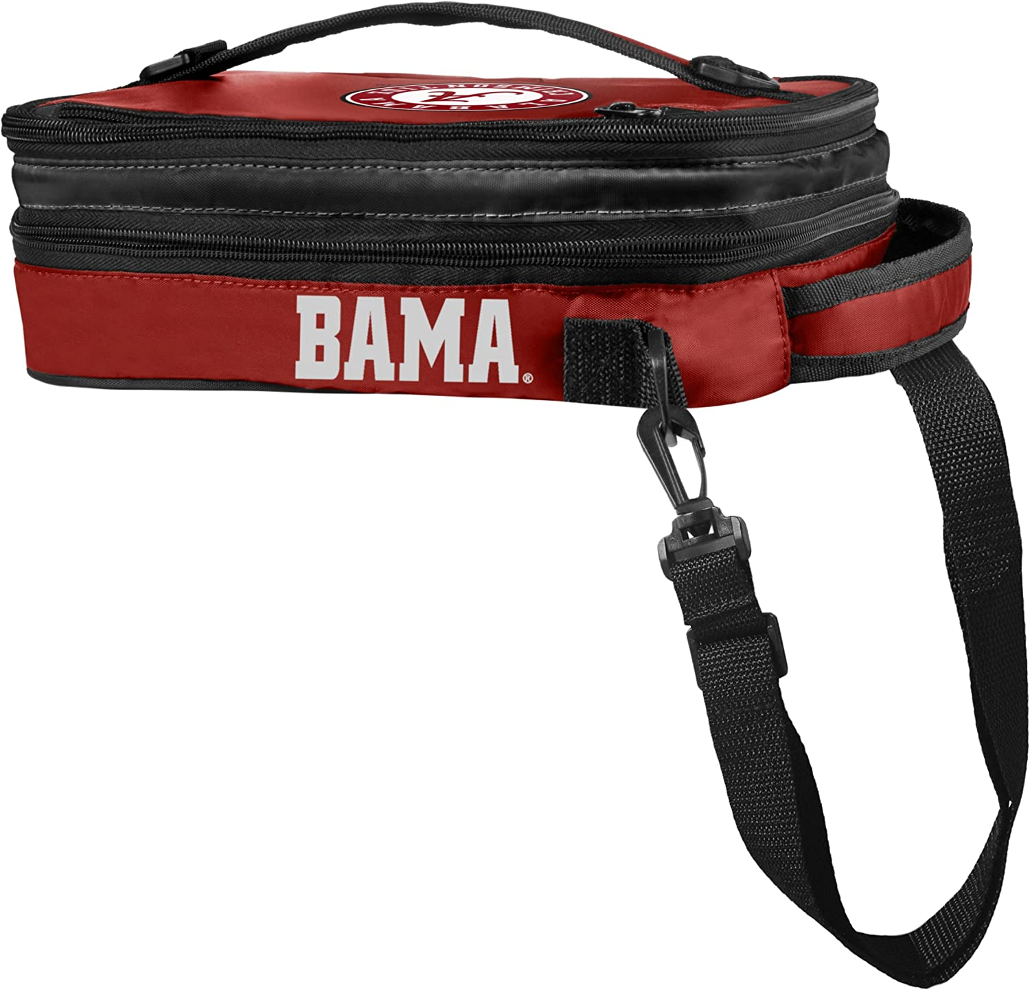 FOCO NCAA Alabama Crimson Tide 2014 Expandable Lunchbox Red One Size