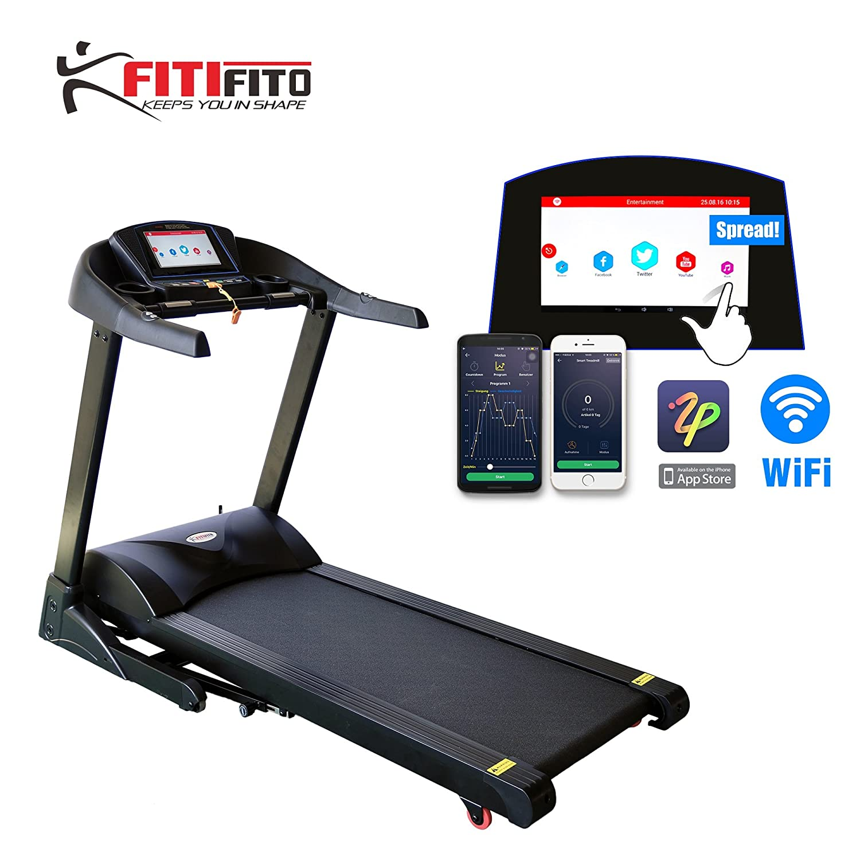 Fitifito 8500S Cinta de Correr Profesional 7,5ps 22 km/h, con 10,1 ...