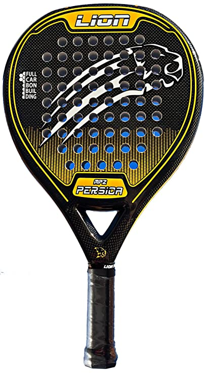 PALA PADEL LION PERSICA MP2 CONTROL ORANGE: Amazon.es: Deportes y aire libre