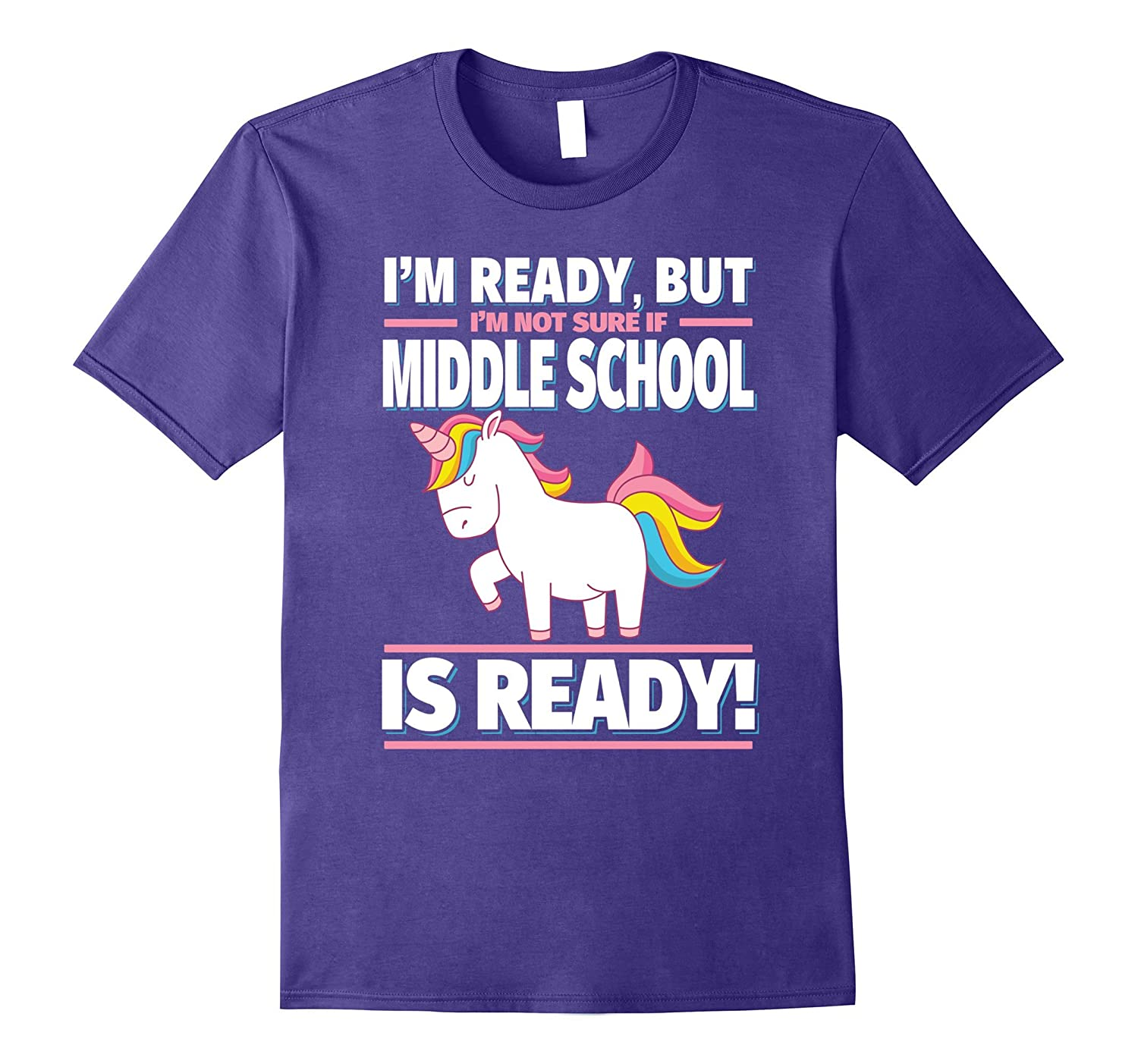 Back To School Unicorn Shirt Is Middle School Ready Art
