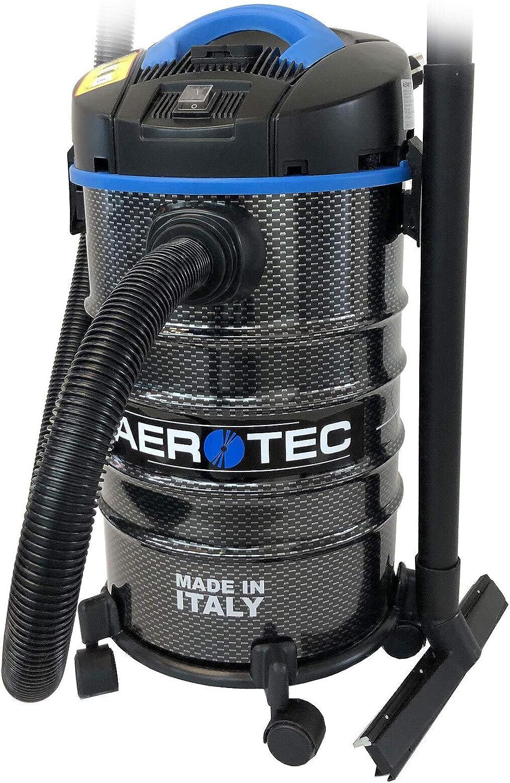 Aerotec - Aspiradora industrial (1400 W, para taller o seco): Amazon.es: Bricolaje y herramientas