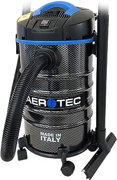 Aerotec - Aspiradora industrial (1400 W, para taller o seco ...