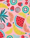 iDrawl Girls Swimwear Pineapple Fruits Beach