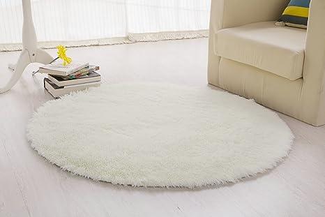 Memorecool tappeto rotondo extra morbido adatto per area relax