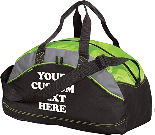 Custom Athletic Travel Duffel Bag – Add Your Custom Text