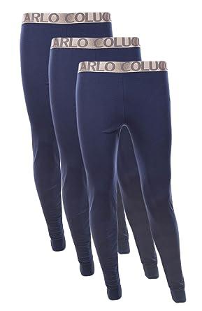 3er Pack Carlo Colucci Herren DUO THERM Thermo Unterhose