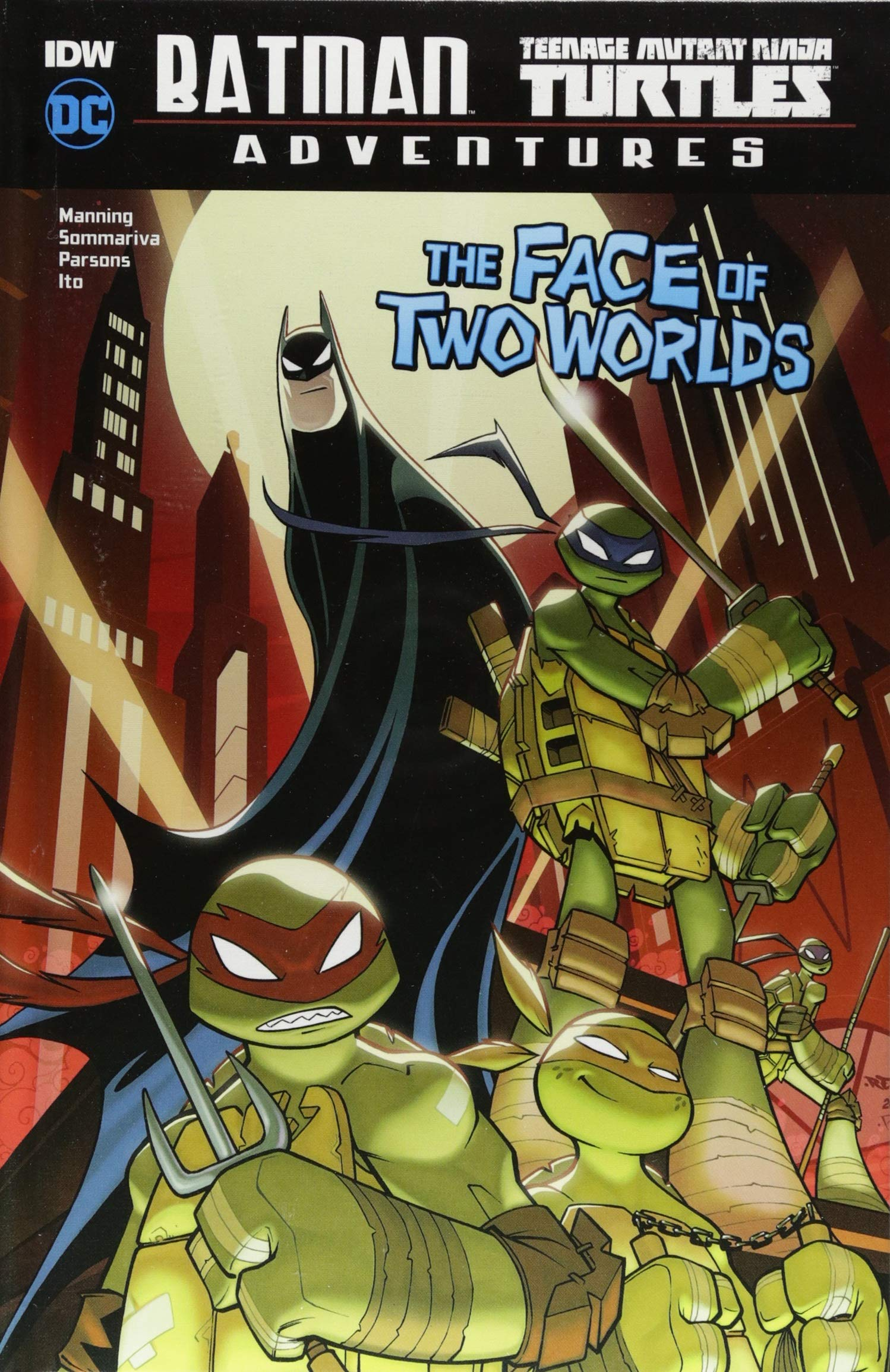 Amazon.com: The Face of Two Worlds (Batman / Teenage Mutant ...