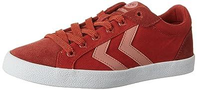 Hummel Deuce Court Summer, Zapatillas Unisex Adulto, Rojo (Fiery Red), 46 EU