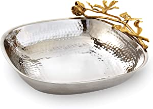 Elegance Butterfly Tray Square Serving Bowl, 10.5
