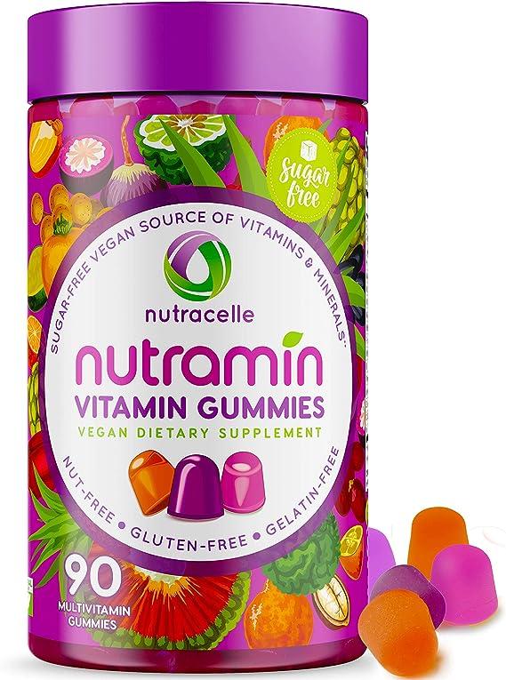 Nutracelle NUTRAMIN Daily Vegan Keto Multivitamin Gummies