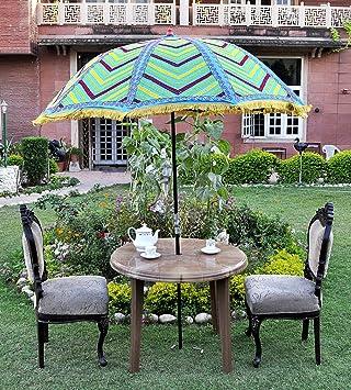 Amazon Jardin Parasol Deporte Parasol Inclinable Grand Parasol Rond Terrasse  Parasol De Jardin