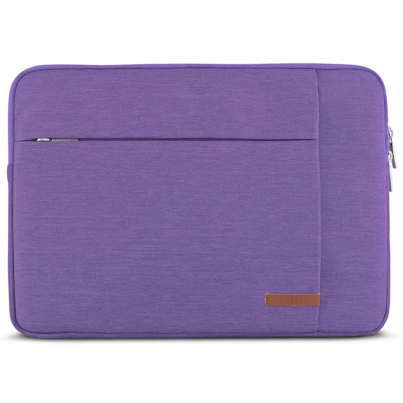 CASEZA Custodia per PC Portatile 13-13.3 Pollici Antracite London Borsa per Notebook ASUS dell Microsoft Surface Book e Altri 13.3 con Due Tasche Custodia Resistente allAcqua per Ultrabook 13