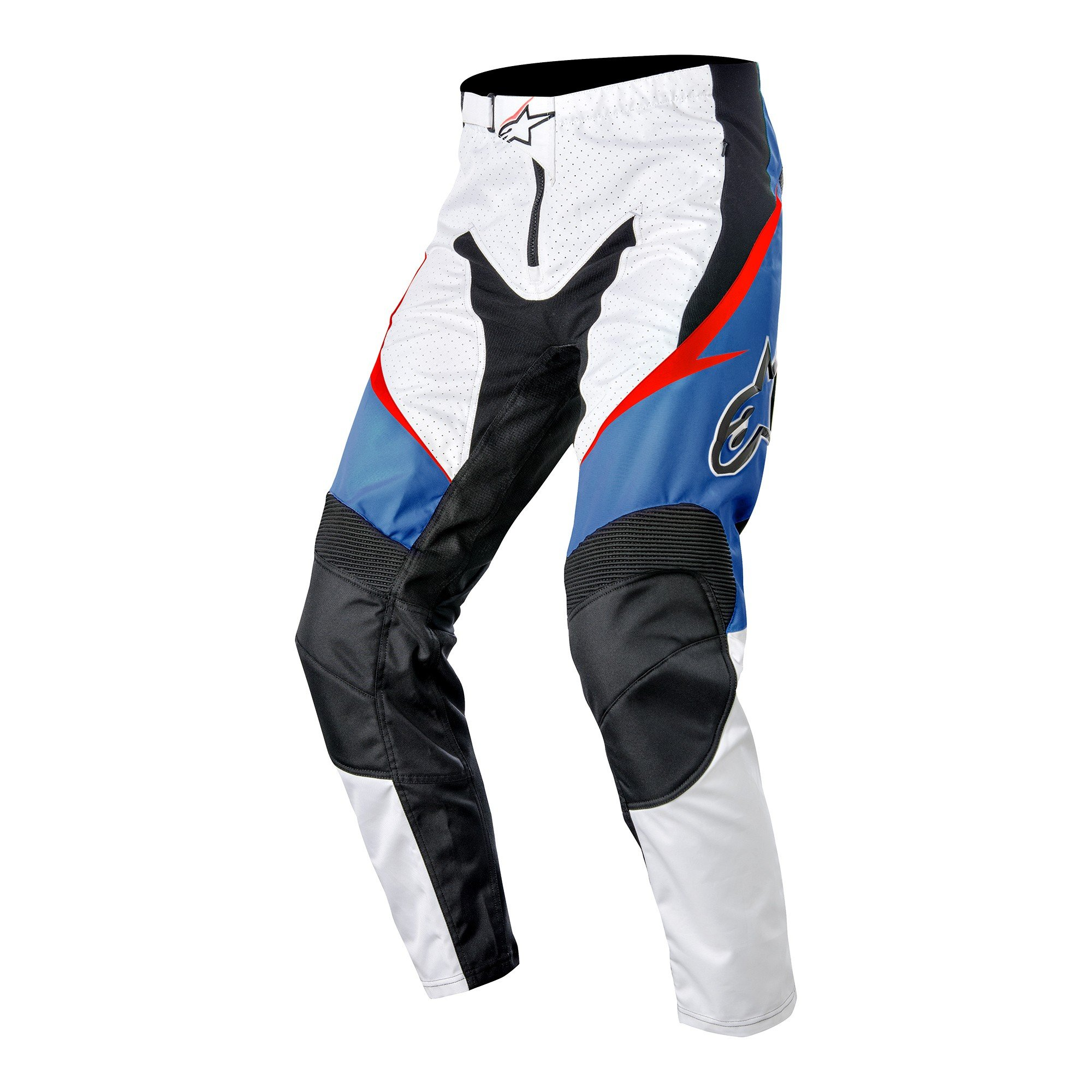 Alpinestars Men's Sight Pant, 32, White/Red/Electric Blue