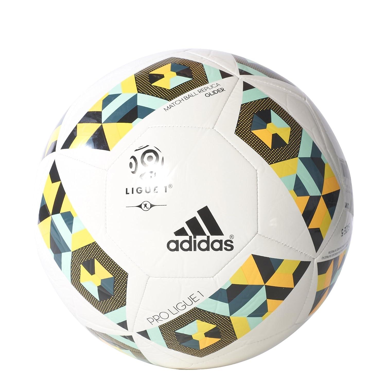 adidas Proligue1Glider Balón de Fútbol, Hombre, (Blanco/Vermis ...