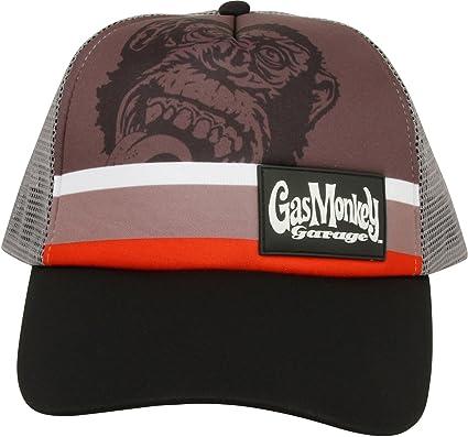 Gas Monkey Garage Cap Striped Trucker Grey  Amazon.co.uk  Clothing 97b64f2b29d
