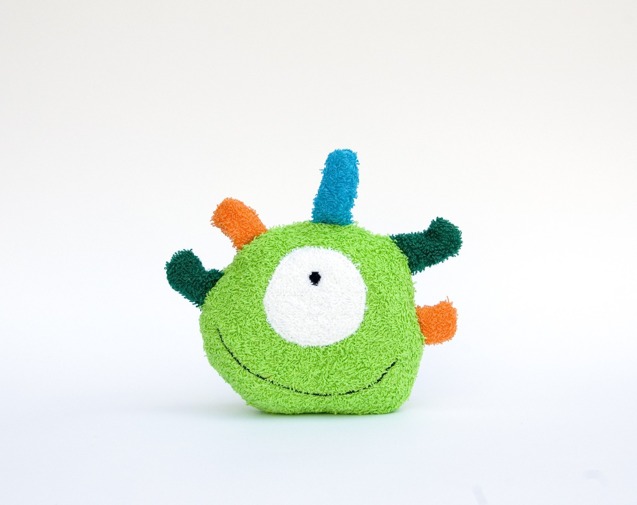 Bath toy Monster Terrycloth Washcloth Baby Shower Gift