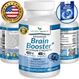 ★ ADVANCED Brain Support Supplement Memory Focus & Clarity Booster PLUS EBOOK Energy Enhancer Ginkgo Biloba St Johns Wort Vitamins Power Boost Nootropic 60 Brain Health Function Pills