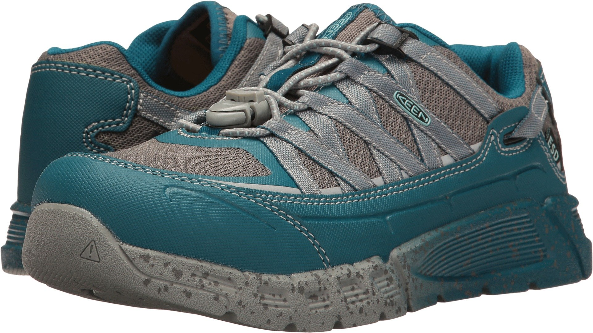 KEEN Utility Women's Asheville at ESD Industrial and Construction Shoe, Ink Blue/Eggshell Blue, 7.5 M US