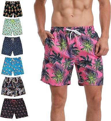 KeeCow Bañador Hombre, Bañador Natación, Banador Hombre Pantalones ...