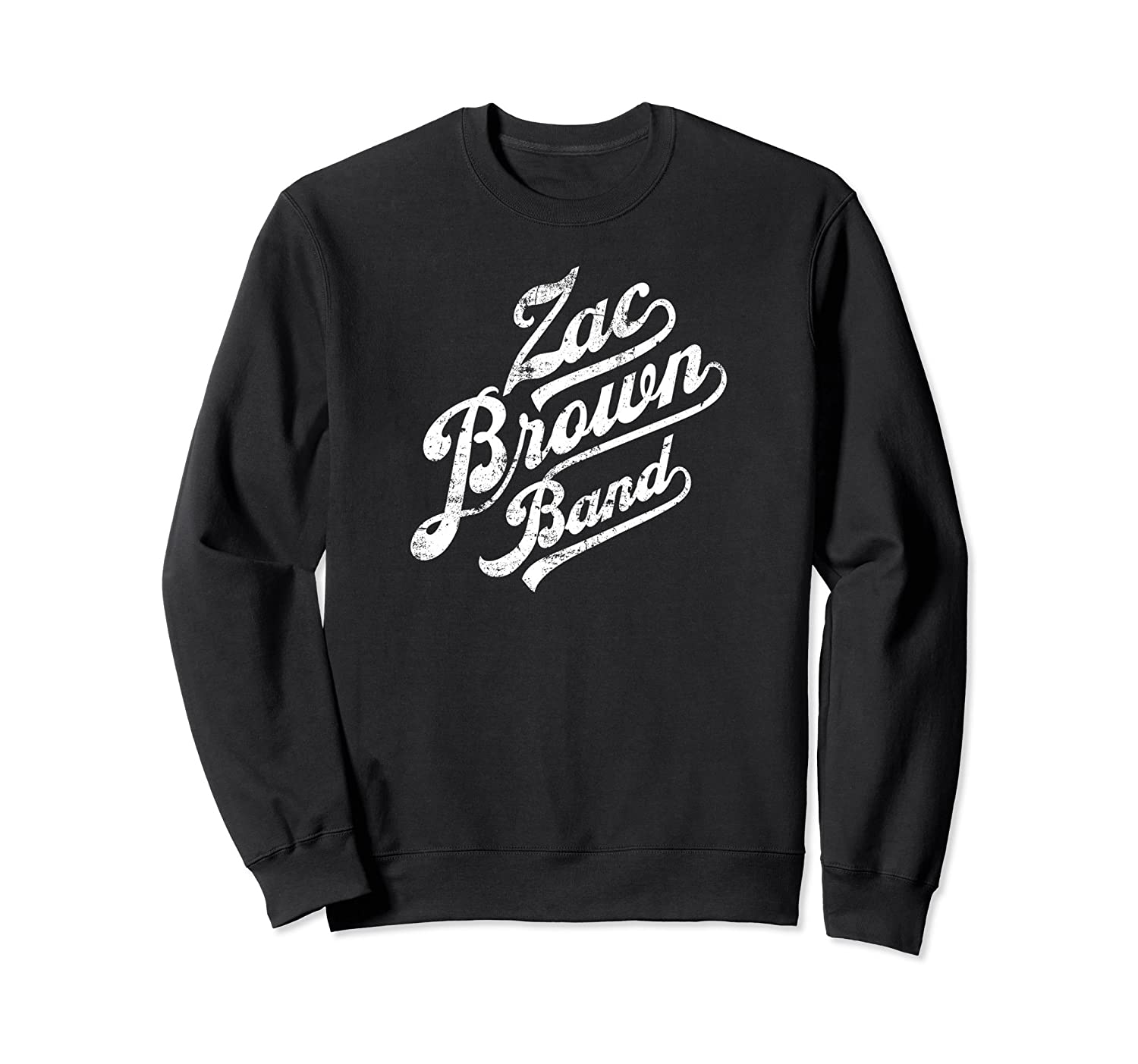 Distressed Logo Sweatshirt-fa