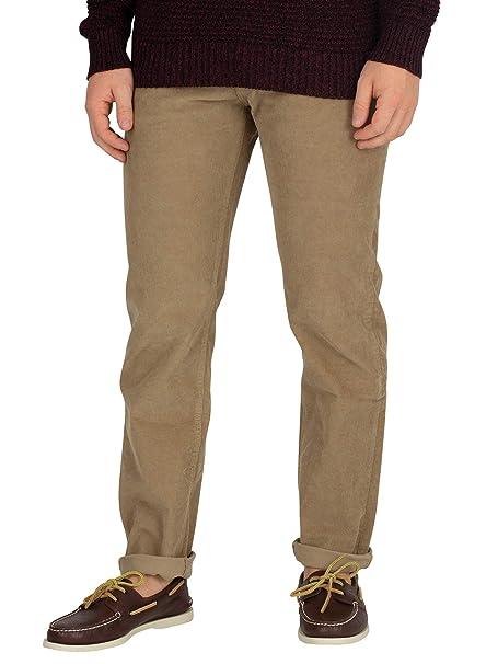 0acd2e049ff Lois Jeans Hombre Pantalones de Pana Sierra Fina, Marrón: Amazon.es: Ropa y  accesorios