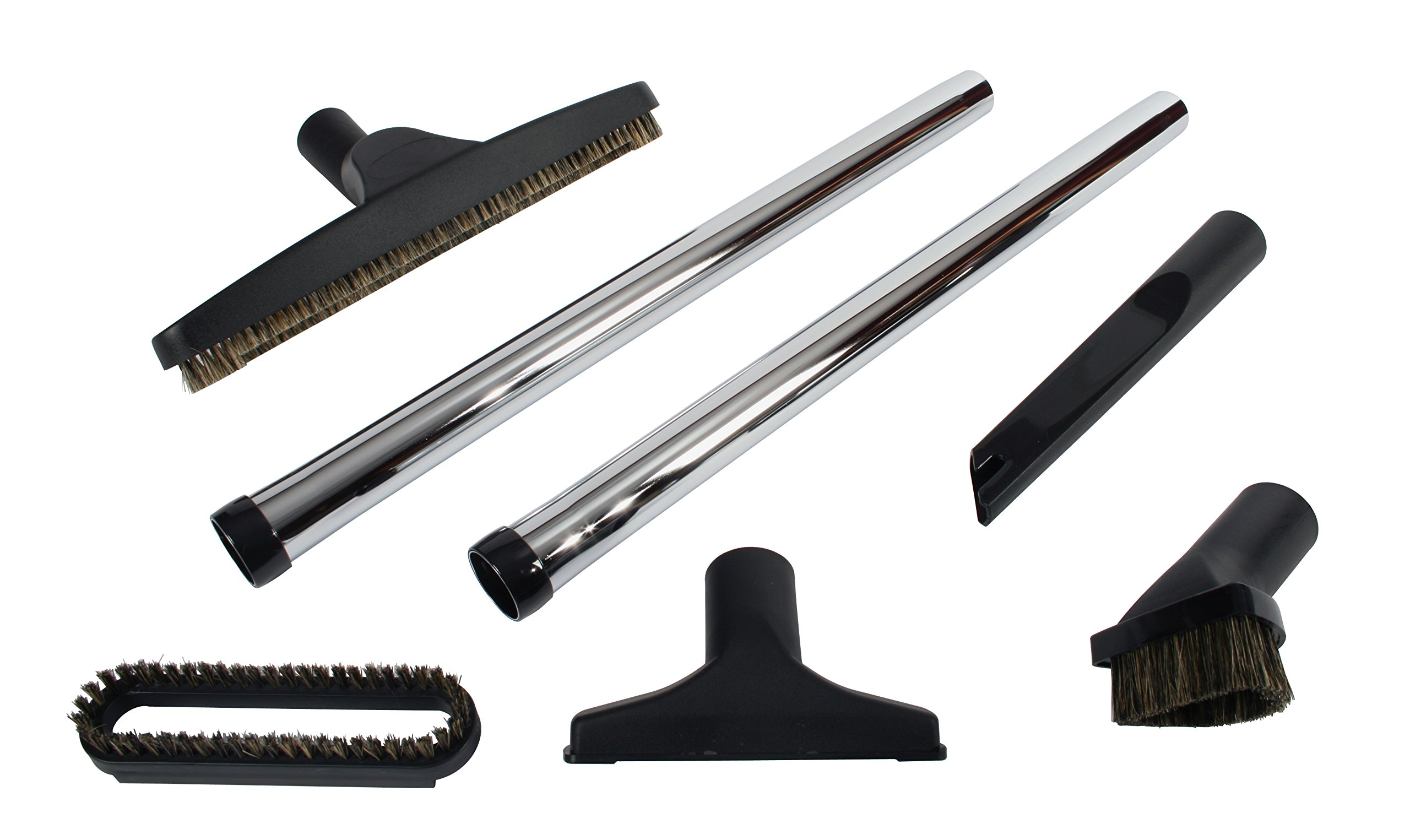 Cen-Tec Systems 91420 Seven Piece Deluxe Vacuum Accessory Kit with Metal Wands