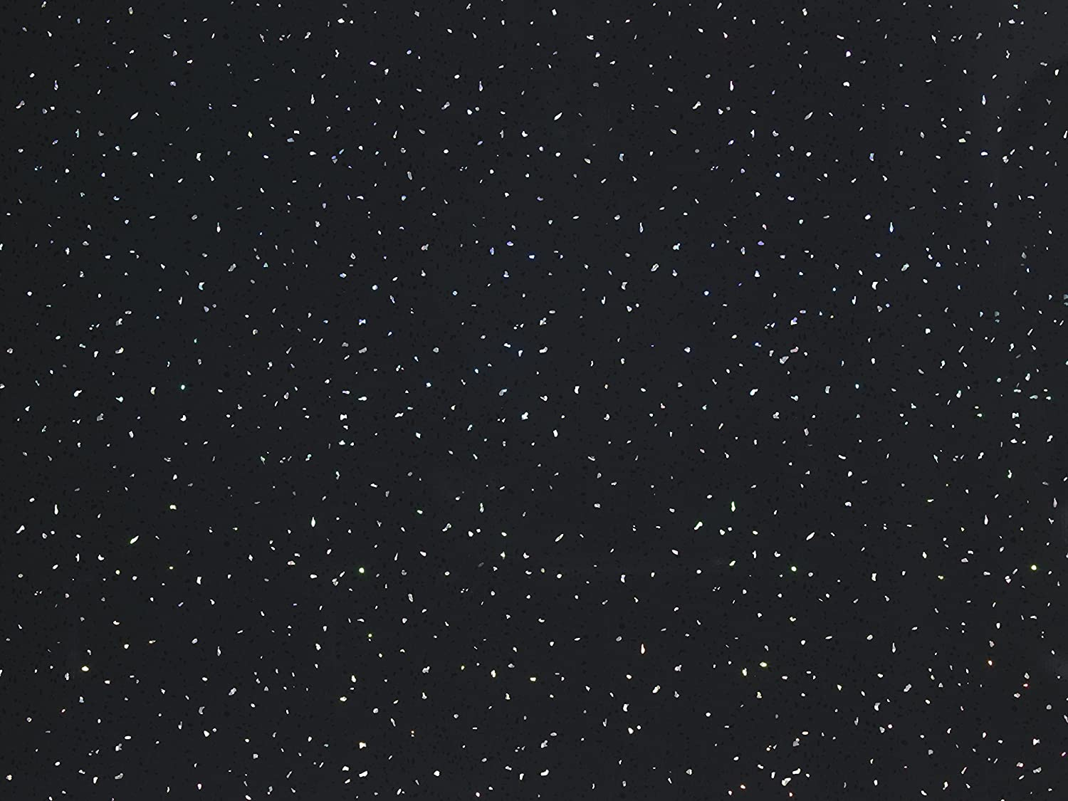 Black Sparkle 1m x 2.4m Shower Wall Panels Bathroom PVC Cladding Wet Wall By DBS