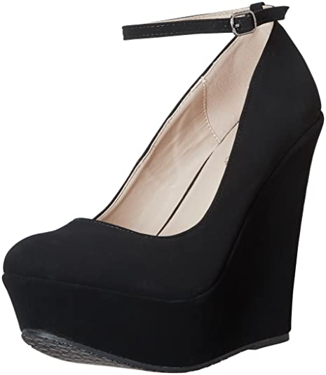 710cd8452a6 DELICACY TRENDY-29 Women's New Hot Fashion Wedge Platform Pumps Sexy Heels