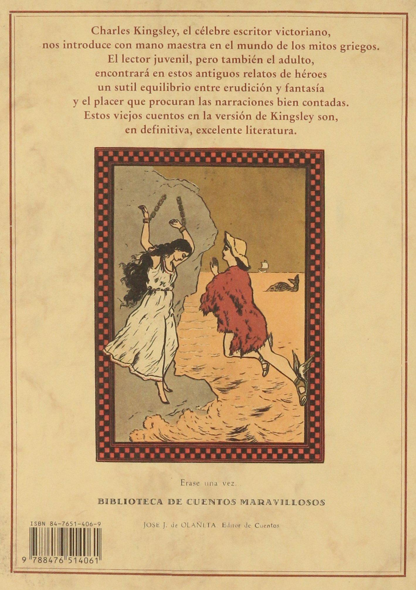 Cuentos de Hadas Griegos - Los Heroes (Spanish Edition): Charles Kingsley: 9788476514061: Amazon.com: Books