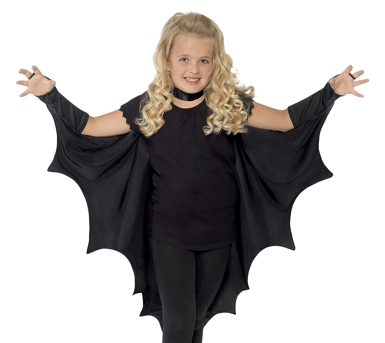 Amazon.com Smiffys Kids Unisex V&ire Bat Costume Wings Black One Size 44414 Smiffys Toys u0026 Games  sc 1 st  Amazon.com & Amazon.com: Smiffys Kids Unisex Vampire Bat Costume Wings Black ...