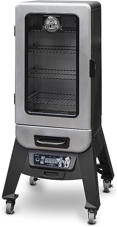 Pit Boss Grills 77232 Digital Vertical Electric Wood Smoker, 3.2: Amazon.co.uk: Garden & Outdoors
