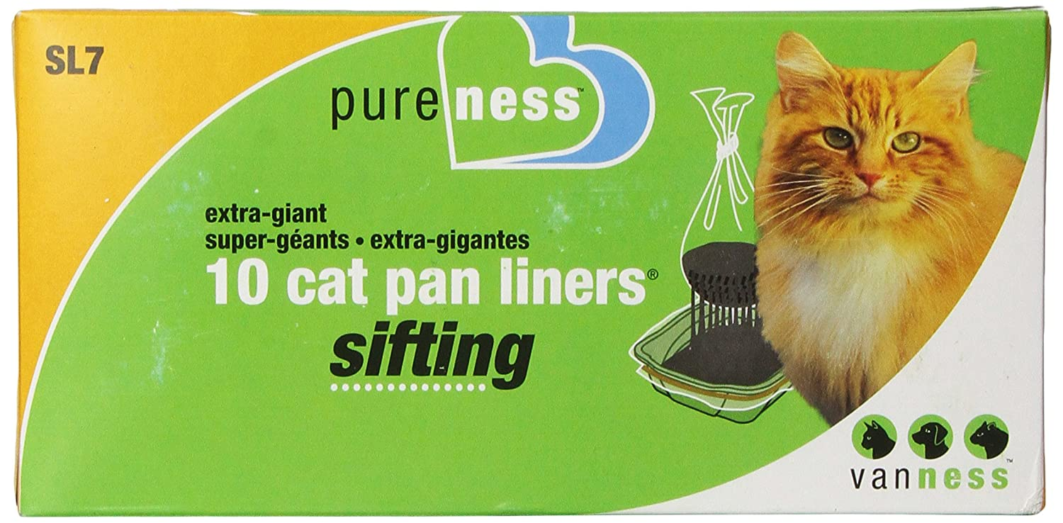 Van Ness Extra Giant Sifting Cat Pan Liners, 10 Count Van Ness Products SL7