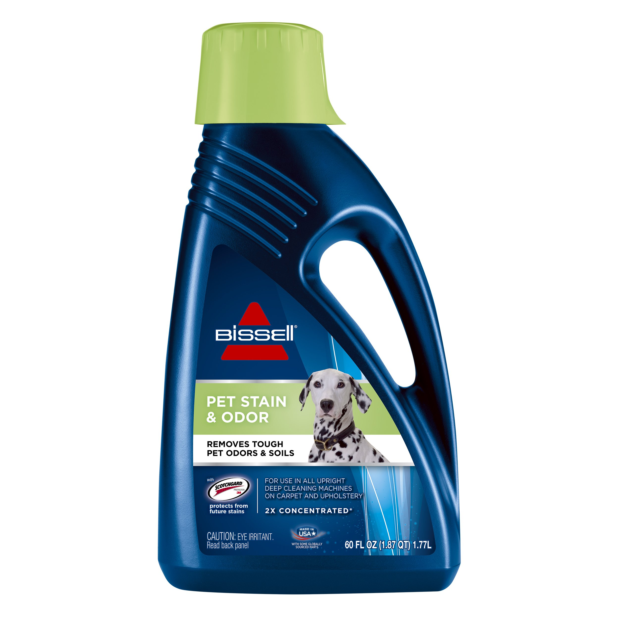 Bissell 2X Pet Stain & Odor Full Size Machine Formula, 60 ounces, 99K5A by Bissell