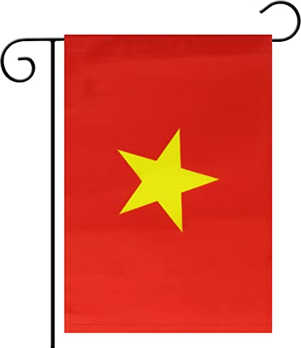 Amazon Com Tbcd Garden Flag Vietnam Vietnamese Garden Flag Garden Decoration Flag Indoor And Outdoor Flags Celebration Parade Flags Anniversary Celebration National Day Double Sided Garden Outdoor