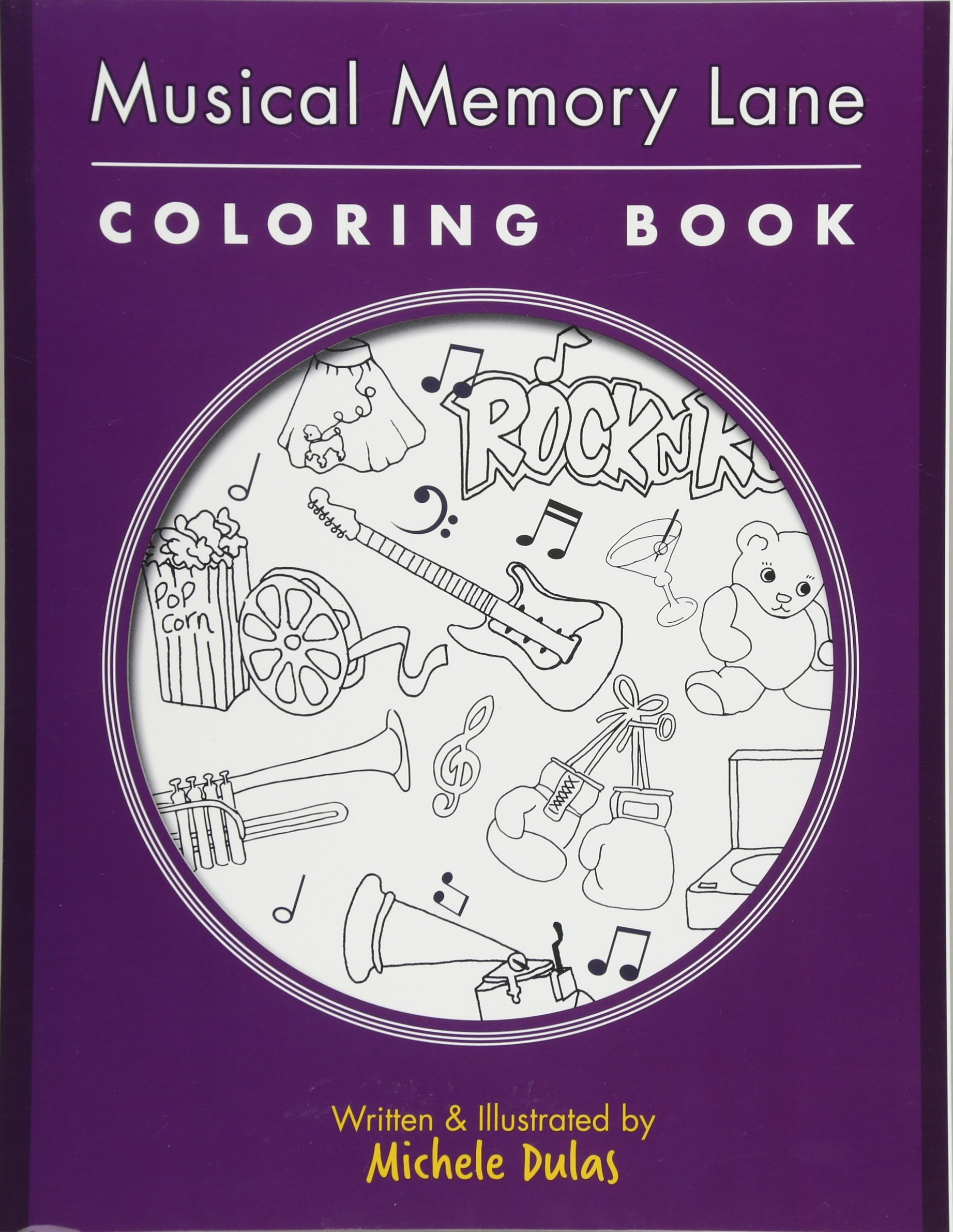 Read Online Musical Memory Lane Coloring Book PDF